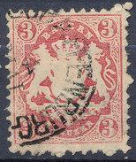 Stamp Bavaria 1870-72 3kr Used Lot#54 - Bavaria