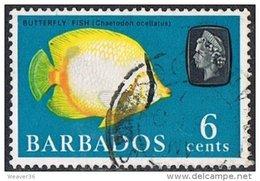 Barbados SG327 1965 Definitive 6c Good/fine Used - Barbados (...-1966)