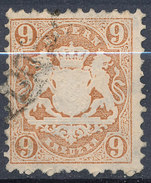 Stamp Bavaria 1870-72 9kr Used Lot#57 - Bavaria