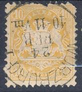 Stamp Bavaria 1870-72 10kr Used Lot#59 - Bavaria