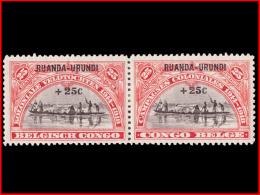 Ruanda 0077/78* - Ruanda-Urundi