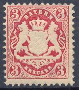 Stamp Bavaria 1870-75? 3kr Mint Lot#63 - Bavaria