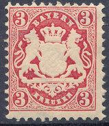 Stamp Bavaria 1870-75? 3kr Mint Lot#64 - Bavaria