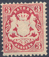 Stamp Bavaria 1870-75? 3kr Mint Lot#65 - Bavaria