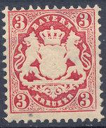 Stamp Bavaria 1870-75? 3kr Mint Lot#66 - Bavaria