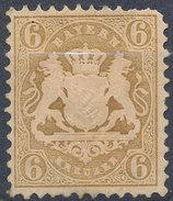 Stamp Bavaria 1870-75? 6kr Mint Lot#67 - Bavaria