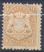Stamp Bavaria 1870-75? 9kr Mint Lot#75 - Bavaria
