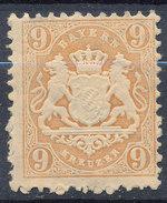 Stamp Bavaria 1870-75? 9kr Mint Lot#76 - Bavaria