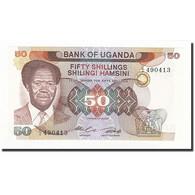 Uganda, 50 Shillings, Undated (1985), KM:20, NEUF - Ouganda