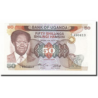 Uganda, 50 Shillings, Undated (1985), KM:20, NEUF - Uganda