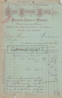 75 17 935 PARIS SEINE 1897 Editeur Imprimeur BOUASSE - LEBEL Succ BASSET Imprimerie Rue Saint Sulpice Et Garanciere - Stamperia & Cartoleria