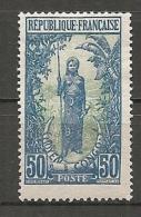 CONGO -  Yv. N° 71 *  50c  Femme  Cote  2,2 Euros BE - Congo Français (1891-1960)