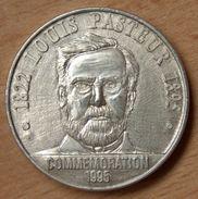 France 25 Ecu De Dole Argent Louis Pasteur 1995 - France