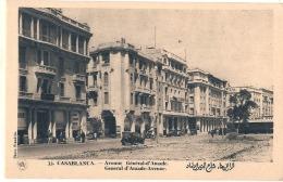 *** MAROC ***  CASABLANCA  Avenue Général D'Amade  - TTB Neuve - Casablanca