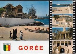 SENEGAL - GOREE - IL PORTO E VEDUTE VARIE - VIAGGIATA FRANCOBOLLO ASPORTATO - Senegal