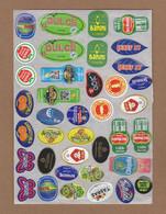 AC - FRUIT LABELS Fruit Label - STICKERS LOT #37 - Frutas Y Legumbres