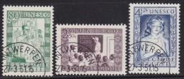 Belgie   .     OBP   .    O       .    842/844       .                Gebruikt   .     /      .   Oblitéré - Used Stamps