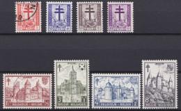 Belgie   .     OBP   .    O       .    868/875     .                Gebruikt   .     /      .   Oblitéré - Used Stamps