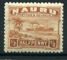 NAURU ( POSTE ) : Y&T N°  15  TIMBRE  NEUF  SANS  TRACE  DE  CHARNIERE , A  VOIR . - Nauru