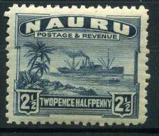 NAURU ( POSTE ) : Y&T N°  19  TIMBRE  NEUF  SANS  TRACE  DE  CHARNIERE , A  VOIR . - Nauru