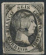 Stamp Spain 1851 6c  Used - 1850-68 Kingdom: Isabella II