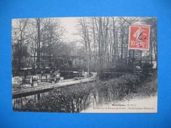 CPA  Maromme - Chute De La Rivière De Cailly - Etablissement Delaporte    Voyagé 1912 - Maromme