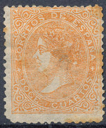 Stamp Spain 1867 12c Mint - 1850-68 Royaume: Isabelle II