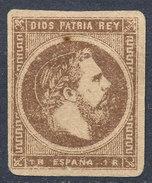 Stamp 1875 Carlos VII. Vascongadas Y Navarra. - 1850-68 Royaume: Isabelle II