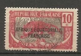 CONGO -  Yv. N° 93, (o)   10c    Cote 0,5 Euros  BE - Congo Français (1891-1960)