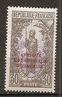 CONGO -  Yv. N° 96  *   30c  Femme  Cote  0,9 Euros  BE 2 Scans - Congo Français (1891-1960)