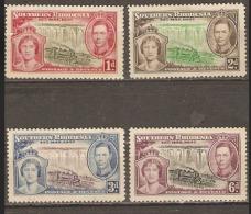 Southern Rhodesia  1937  SG  36-9  Coronation  Mounted Mint - Rhodésie Du Sud (...-1964)