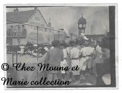 VERNON - MANIFESTATION SUR LA PLACE D ARMES - SOCIETE DE GYMNASTIQUE - EURE - PHOTO 12 X 9 CM - Sport