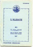 L'ALSACE - Pochette De 10 Photos Originales En Couleurs Avec Texte (20 X 14) - Albumes & Colecciones