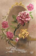 [DC11194] CPA - FIORI - ROSE IN PRIMO PIANO - Non Viaggiata - Old Postcard - Blumen