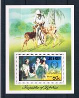 Liberia 1975 Nobelpreis Block 77 A ** - Liberia