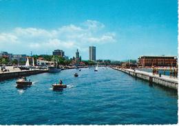 RIMINI - Porto Canale E Grattacielo - Motoscafo - 1968 - Rimini