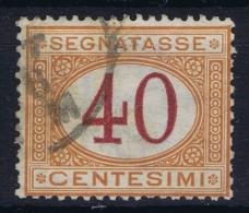 Italy:  Segnatasse Sa 8 Obl./Gestempelt/used  1870 - 1900-44 Vittorio Emanuele III