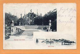 Isola Bella Italy 1900 Postcard - Italië