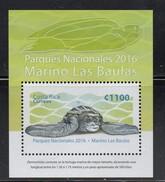 MNH Scarce Mini SHEET COSTA RICA, 2016, National Park Las Baulas Turtles - Other