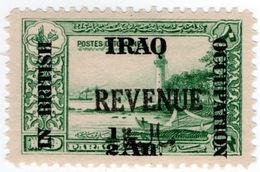 (I.B) Iraq Revenue : British Occupation ½a On 10pa OP - Iraq
