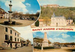 Dép 42 - St Andre D'Apchon - Saint Andre D'Apchon - Multivues - Semi Moderne Grand Format - état - France