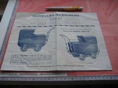 10 Livrettes,divers Catalogues Complete PERFECT - PRAMS, Kinderwagens Voitures D'enfants DUPORT Rain-Bow Trianon TRIOMPH - Advertising