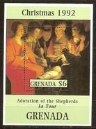 Grenada Grenade 1992 Yvertn° Bloc 302 *** MNH Cote 50 FF Noël Kerstmis Christmas - Noël