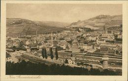 AK Kirn, Gesamtansicht, Bahnstrecke, Bahnhof, Wasserturm, Ca. 1920er Jahre (26024) - Kirn