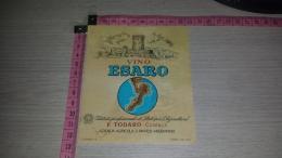 ET-902 COSENZA F. TODARO AZIENDA AGRICOLA S. MARCO ARGENTANO VINO ESARO - Etichette