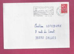 Lettre Pour La France De Saint Pierre Et Miquelon De 2006 - YT N° 832 - Marianne De Lamouche - Flamme - St.Pierre & Miquelon