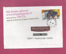 Lettre Pour La France De Saint Pierre Et Miquelon De 2009 - YT N° 925 - Festival De Musique - Violon - St.Pierre Et Miquelon