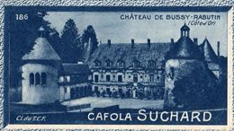 Bussy Rabutin Chateau -  Grand Concours Des Vues De France - Cafola  Chocolat Suchard N° 186 - Chocolat