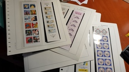 FRANCIA  Hojas Edifil  Filoestuchadas  Carnets1/23 Con Carnets Originales NL566 - Encuadernaciones Y Hojas
