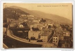 ASSISI PANORAMA DAL CAMPANILE DI S.FRANCESCO 1923 VIAGGIATA FP - Perugia